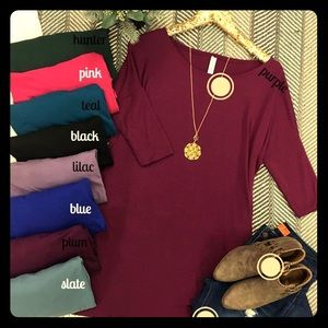 Tops - Boutique Drop shoulder tunic in teal